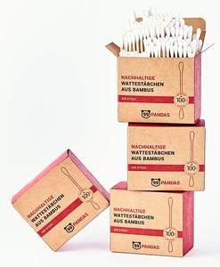 Nachhaltige Bambus Wattestäbchen  - 99PANDAS