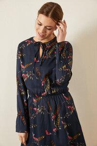 Kleid mit Schnürung aus Tencel® - Lanius