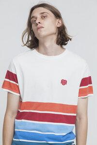 T-Shirt - 6 LINES 6 COLORS - Snow White - thinking mu