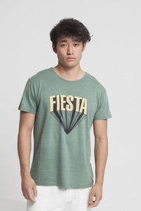 T-Shirt - FIESTA - Green Forest - thinking mu