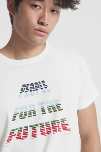 T-Shirt - PEOPLE FOR THE FUTURE - Snow White - thinking mu