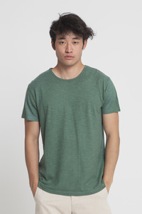 T-Shirt - GREEN HEMP - Green Forest - thinking mu