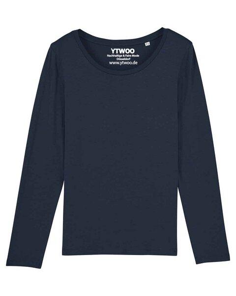 984fe373e6ca53 YTWOO - Damen Langarm T-Shirt