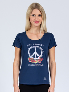 T-Shirt Peace aus weichem TENCEL®  - Magadi