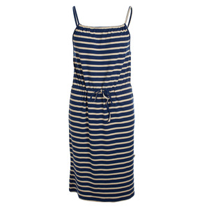 Trägerkleid - Dress Yvonne Stripes Marine Bamboo - Froy & Dind