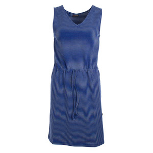 Kleid mit Streifen - Dress Monica Stripes Hip Blue Jersey Cotton - Froy & Dind