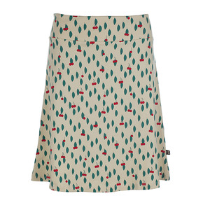 Rock Kirschenmotiv - Skirt Long Cherry Jerysey Cotton - Froy & Dind