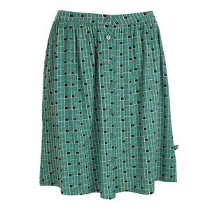 Rock - Skirt Carla Blocks Jersey Tencel - Froy & Dind