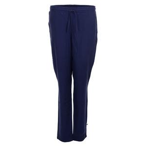 Stoffhose - Pants Naomi Navy Blue Tencel Woven - OY-DI