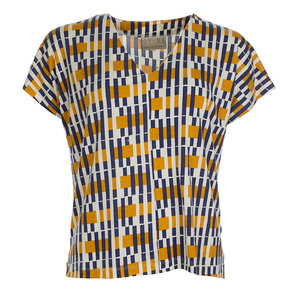 T-Shirt - Shirt Jenny Blocks Jersey Tencel - OY-DI