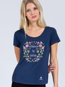 T-Shirt Silence aus weichem TENCEL®  - Magadi