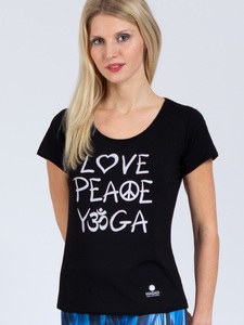 T-Shirt Love aus weichem TENCEL®  - Magadi