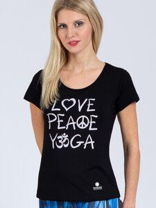 T-Shirt Love aus weichem TENCEL®  - Magadi