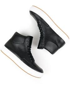 Sneaker-Stiefel Schwarz Damen - Will's Vegan Shop