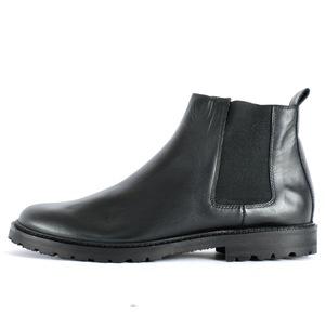 '92 Leder Chelsea Boots Black - SORBAS