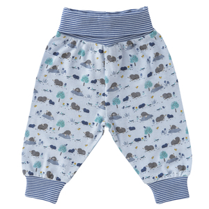 Babyhose - Maulwurf All-over-Print - People Wear Organic