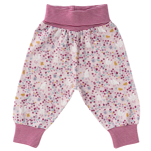 Babyhose - Huhn All-over-Print - People Wear Organic
