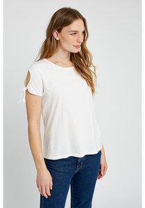 T-shirt - Emery Top - Weiß - People Tree