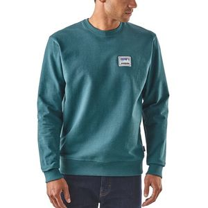 Sweatshirt - M's Shop Sticker Patch Uprisal Crew Sweatshirt - Patagonia