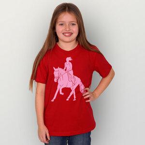 """Galopp"" Unisex Kinder T-Shirt  - HANDGEDRUCKT"