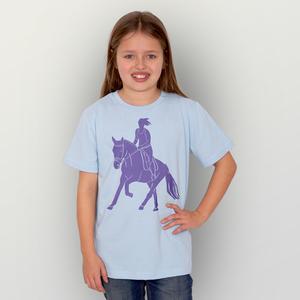 'Galopp' Unisex Kinder T-Shirt  - HANDGEDRUCKT