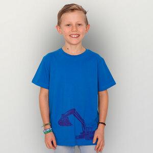 'Bagger' Unisex  Kinder T-Shirt  - HANDGEDRUCKT