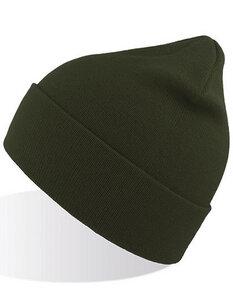 Atlantis Green Beanie GRBE Bio Baumwolle verschiedene Farben  - Atlantis Headwear