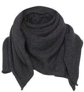 Merino Tuch/Plaid Black&Grey - ACHAHHA®