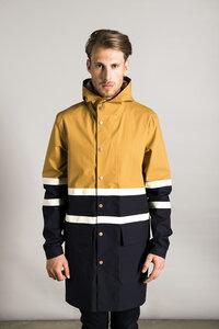 Regenjacke - Jacket Orland H - Desert/Navy - LangerChen