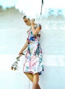 Kleid – Solar Flower Dress – Mehrfarbig - Thought | Braintree