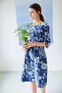 Kleid - Kikii Dress – Blau - Thought | Braintree