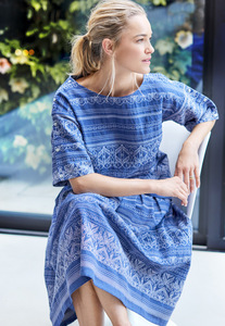 Top - Jacqualine Top – Blau - Thought | Braintree