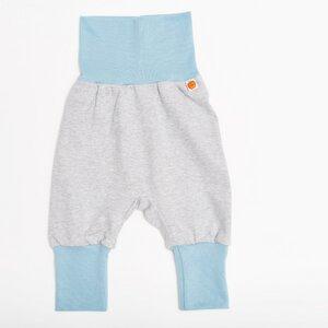 Babypumphose unifarben Grau aus 100% Bio-Baumwolle - Cheeky Apple