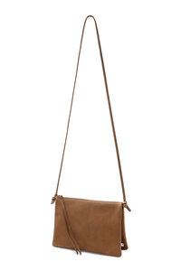 Lederhandtasche ELLA aus Leder mit zwei Fächern  - ELEKTROPULLI