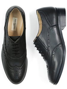 Oxford Brogues 3.5cm Damen - Will's Vegan Shop