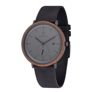 Kerbholz Anton Herrenuhr Walnut Midnight Black - Kerbholz