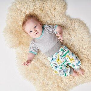 Babypumphose 'Cool jungle' aus 95% Baumwolle und 5% Elasthan - Cheeky Apple
