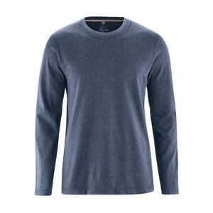 Herren Langarm-Shirt - HempAge