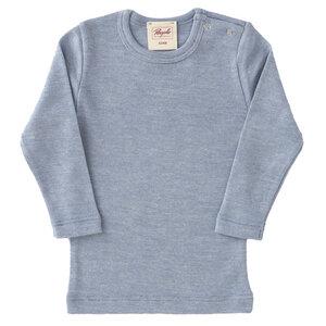Langarmshirt - Baumwolle/Wolle/Seide - People Wear Organic