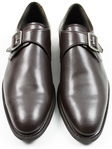 Goodyear Welt Monkstraps Dunkelbraun Herren - Will's Vegan Shop