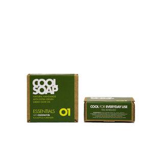 Cool Soap 01 Olivenölseife - Kokosöl mit Eukalyptus & Lavendel - The Cool Projects