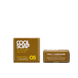 Cool Soap 05 Olivenölseife - Mandelöl mit Zitronenverbene & Zypresse - The Cool Projects
