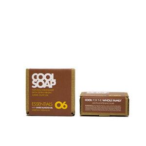 Cool Soap 06 Olivenölseife - Mandelöl mit Zitronenverbene & Geranium - The Cool Projects