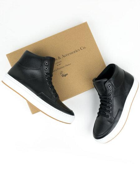 Sneaker Stiefel Schwarz Herren