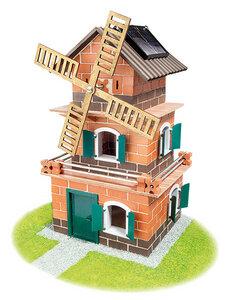 Teifoc Solar-Haus-Windmühle 380 Teile mit Motor - Teifoc