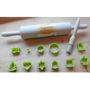 Keks und Plätzchenausstecher im Backset  - Biodora