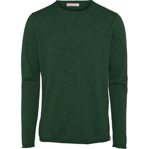 Single Knit with Roll Edges Bistro Green - KnowledgeCotton Apparel