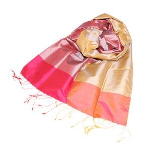 JESSICA Edler Schal aus handgewebter Seide - Schönes aus Indochina