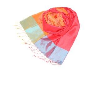 ANJA Edler Schal aus handgewebter Seide - Schönes aus Indochina