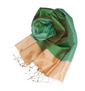 JOELLE Edler Schal aus handgewebter Seide - Schönes aus Indochina